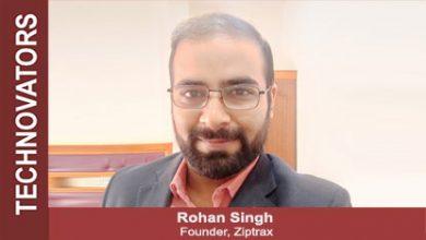 Rohan Singh, Founder, Ziptrax