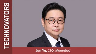 Jun Ye CEO of Moorebot