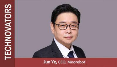 Jun Ye CEO of Moorebot