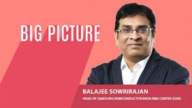 Balajee Sowrirajan, Head of Samsung Semiconductor India R&D Center (SSIR)