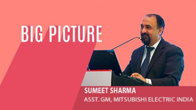 Sumeet Sharma, Assistant General Manager, Low Voltage Switchgear-Project Department of Automation & Industrial Division, Mitsubishi Electric India