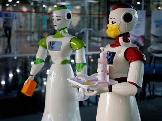 Robotic machine