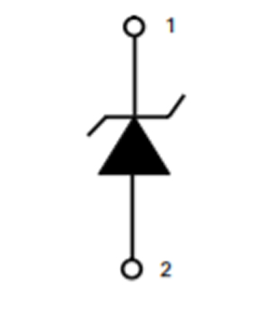 single TVS diode