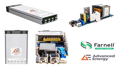 element14 Offers Advanced Energy's Excelsys Power Supplies